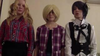 Кейт Фантом : косплей тёмный дворецкий клип на песню Zara Larsson – Ain't My Fault