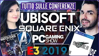 E3 2019: UBISOFT | SQUARE ENIX | PC - Watch Dogs Legion, Avengers, FFVII Remake e molto altro