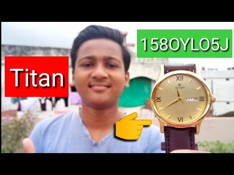 Unboxing of Titan 1580YL05J Analog Man's Watch😎🎉
