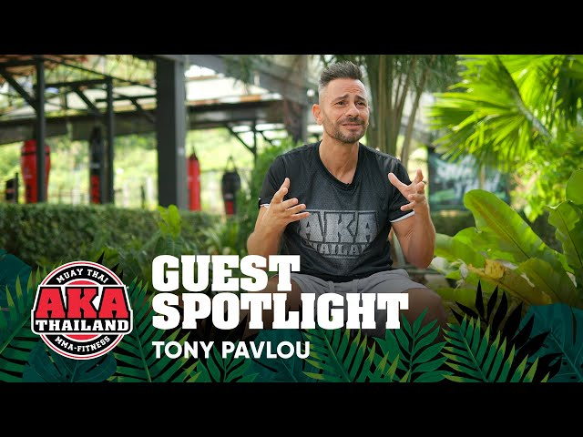 AKA Thailand Guest Spotlight - Tony Pavlou