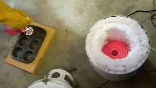 DIY 120/240 Volt Electric Aluminum Foundry