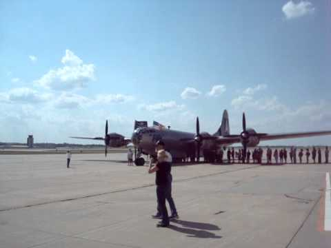 World War II B29 National Treasure Pays Visit To Springfield Mo.    8-15-12