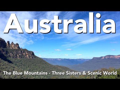 Australia - The Blue Mountains - Three Sisters & Scenic World