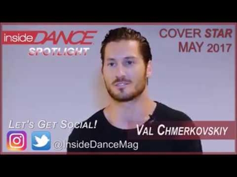 Val Chmerkovskiy - Interview Inside Dance Magazine (04/18/17)