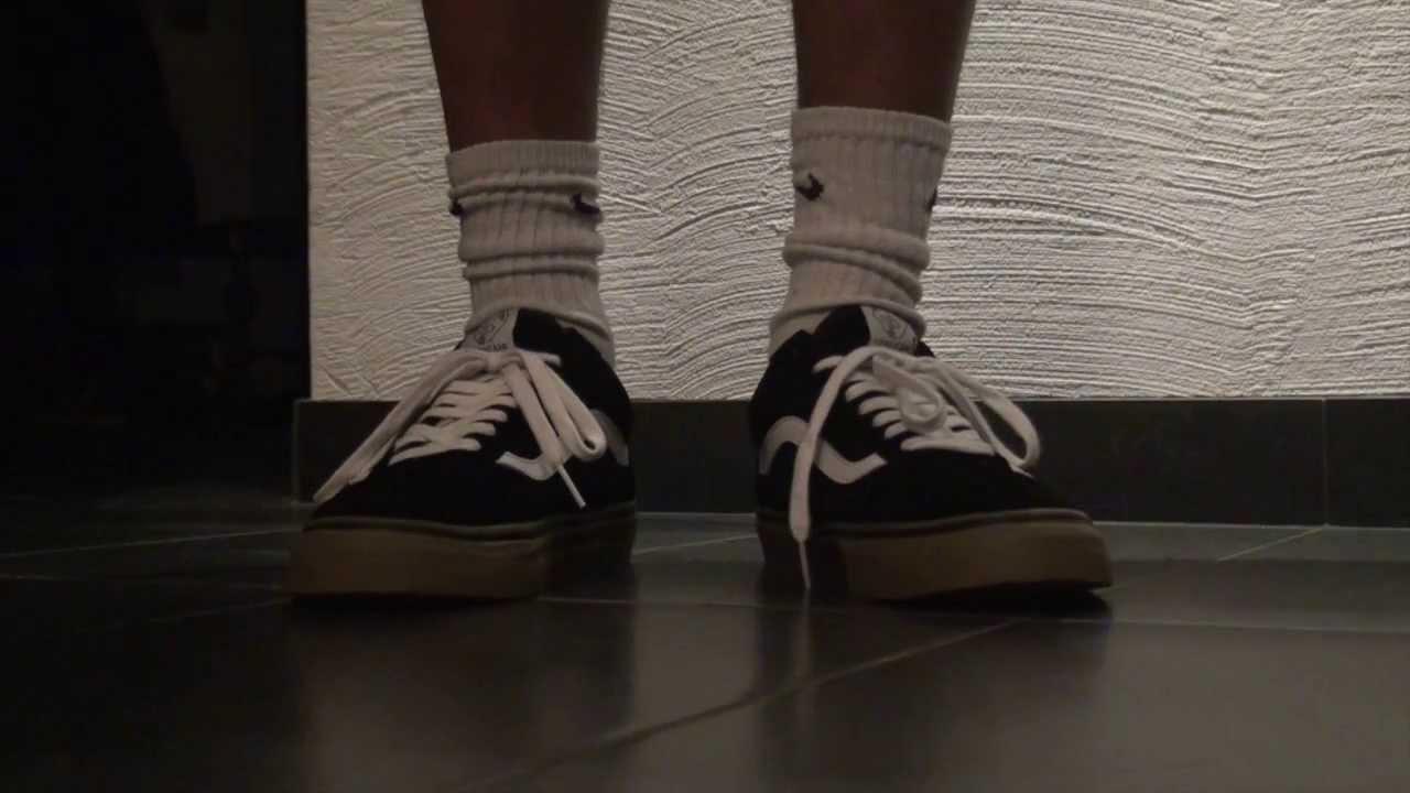 49d0460d172b Vans Syndicate Golf Wang ON FEET (Black) - YouTube