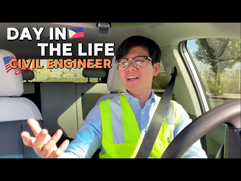 NAPAGALITAN AKO!! | Day In The Life Of A Filipino Civil Engineer In America
