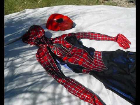 Spiderman costume & Spiderman costume - YouTube