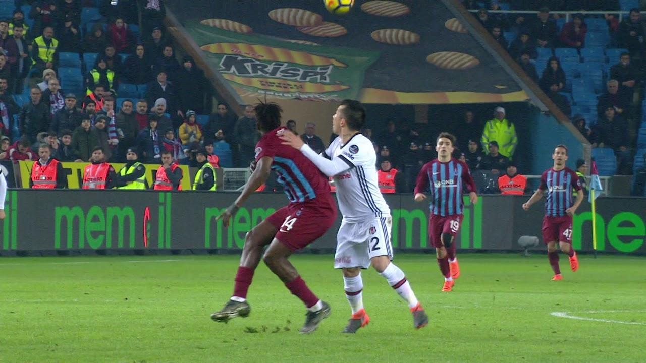 Trabzonspor 0 - 2 Beşiktaş - Maç Özeti