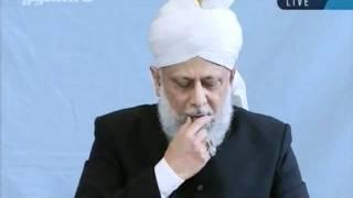 Juma khutbah Hamburg, Germany, 7th-oct-2011-persented by khalid Qadiani ahmadi-clip 4.flv