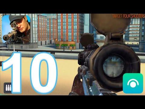 Sniper 3D Assassin: Shoot to Kill - Gameplay Walkthrough Part 10 - Region 4 (iOS, Android)