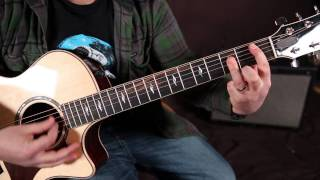 The Beatles - Lucy in the Sky With Diamonds - Lesson On Guitar - How to Play