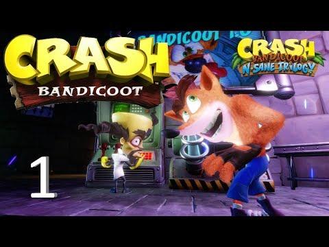 Crash Bandicoot [N. Sane Trilogy] Guía 100% #1 Papu Papu