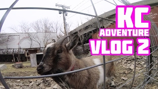KC Adventure Vlog: Coffee, Commutes and Goats?