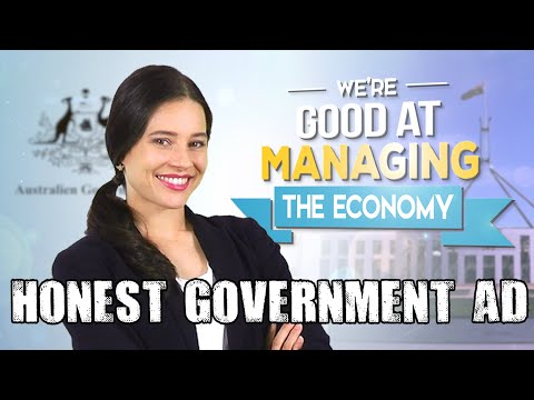 Honest Government Ad | Good Economic Managers