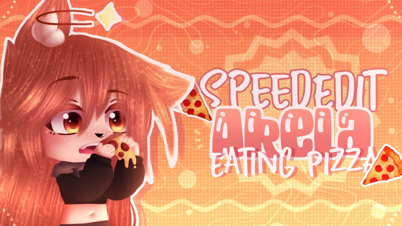 🍕SpeedEdit:Akela eating pizza🍕||IbisPaint x||Gachaclub||•Ak25•