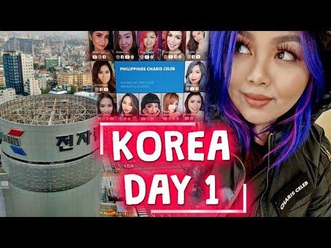 KOREA DAY 1: FIRST TIME KO ITO!!! | Bing Vlogs