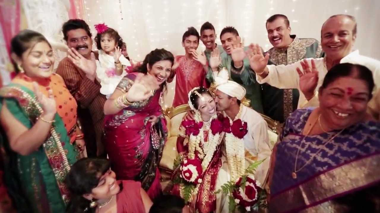 Cinematic Hindu Wedding Of Dass & Vani. Tamil Wedding Song