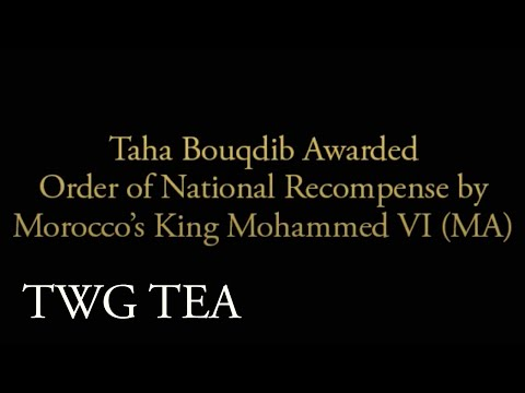 TWG Tea Co-Founder Taha Bouqdib Awarded Order Of National Recompense By King Mohammed VI Of Morocco