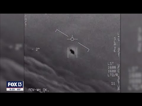 NASA now investigating Navy's UFO videos: 'There is something there'