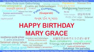 MaryGrace   Languages Idiomas - Happy Birthday