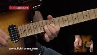 Velvet Revolver - Fall To Pieces - Guitar Solo Performance With Danny Gill Licklibrary