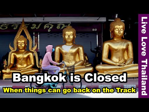 Bangkok is Closed   When things will be back on the Track #livelovethailand