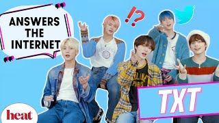 Download lagu 'Sometimes Your Heart Hurts': TXT Answer Your Stan Tweets & It's Adorable