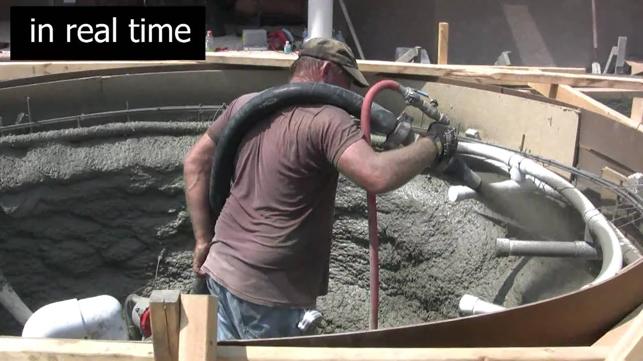 Pool design concrete pour of swimming pool shell for natural stone pool design concrete pour of swimming pool shell for natural stone swimming pool and spa youtube solutioingenieria Image collections