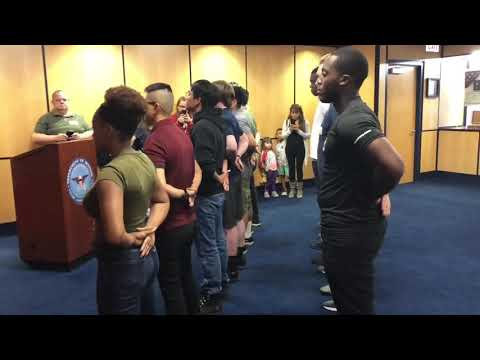 My MEPS Experience ~Swearing Into US Military