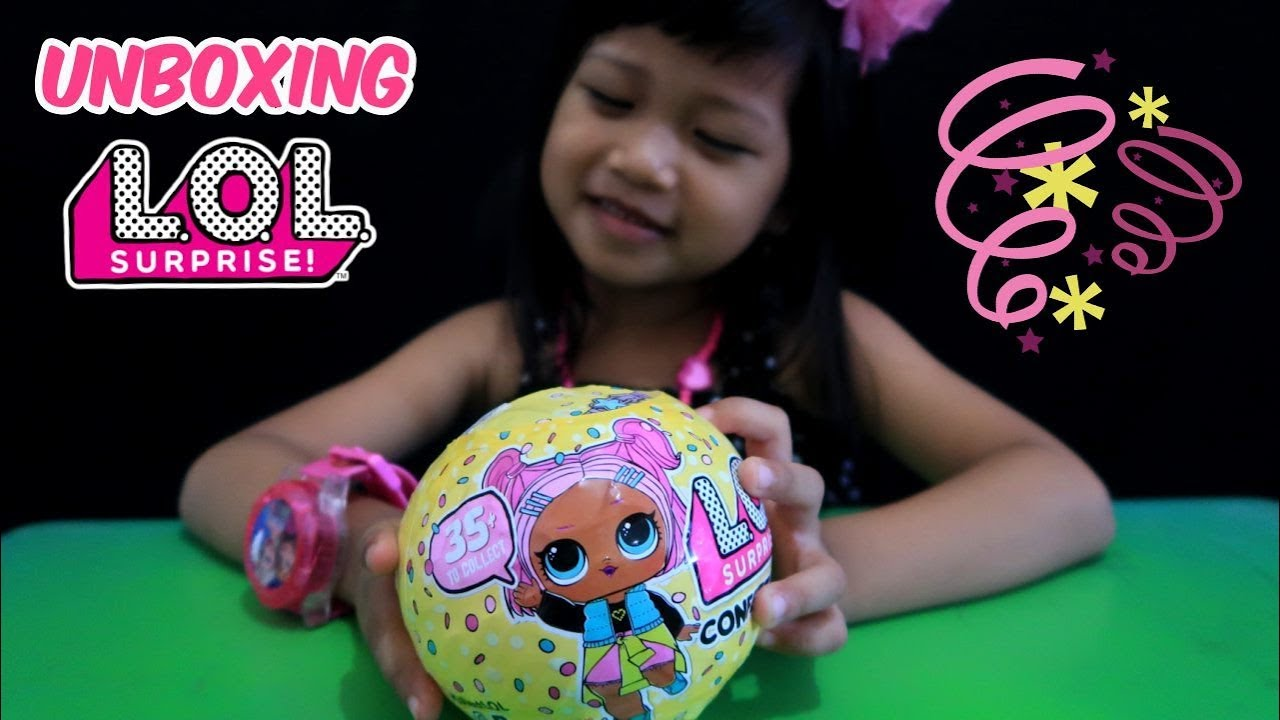 Unboxing LOL Surprise Confetti Pop Series 3 Baby Dolls - Review Mainan Anak  Perempuan Boneka Lucu 9fddd9daa2