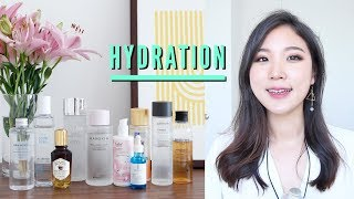 💦Best Hydrating Skincare Products » Toner, Essence, Serum // Skin Hydration Basics