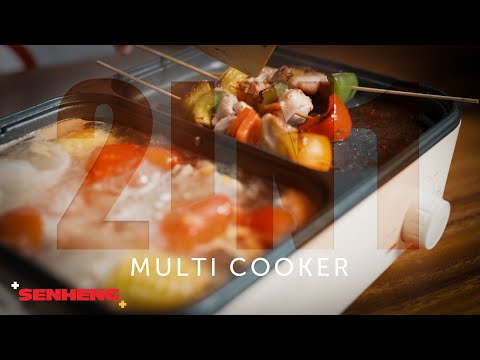 Pensonic 2-in-1 Multi Cooker | Senheng Malaysia