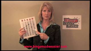 Bingo Made Easier.  A Bingo game for all ages.