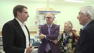 Dedication of the Dr Dan Andreae Lab for Brain Research