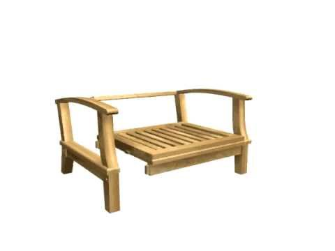Superior Knock Down Chair , Garden Furniture