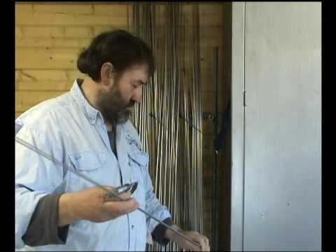 How A David Norwich EV2 Carbon Fibre Fly Rod Is Made..... Part 1