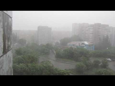 Барнаул Гроза Шторм 20 06 2017 Storm Barnaul