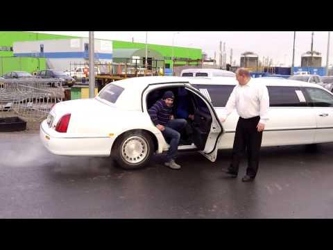 Limousine Aris Kalkman en Wim Vogel