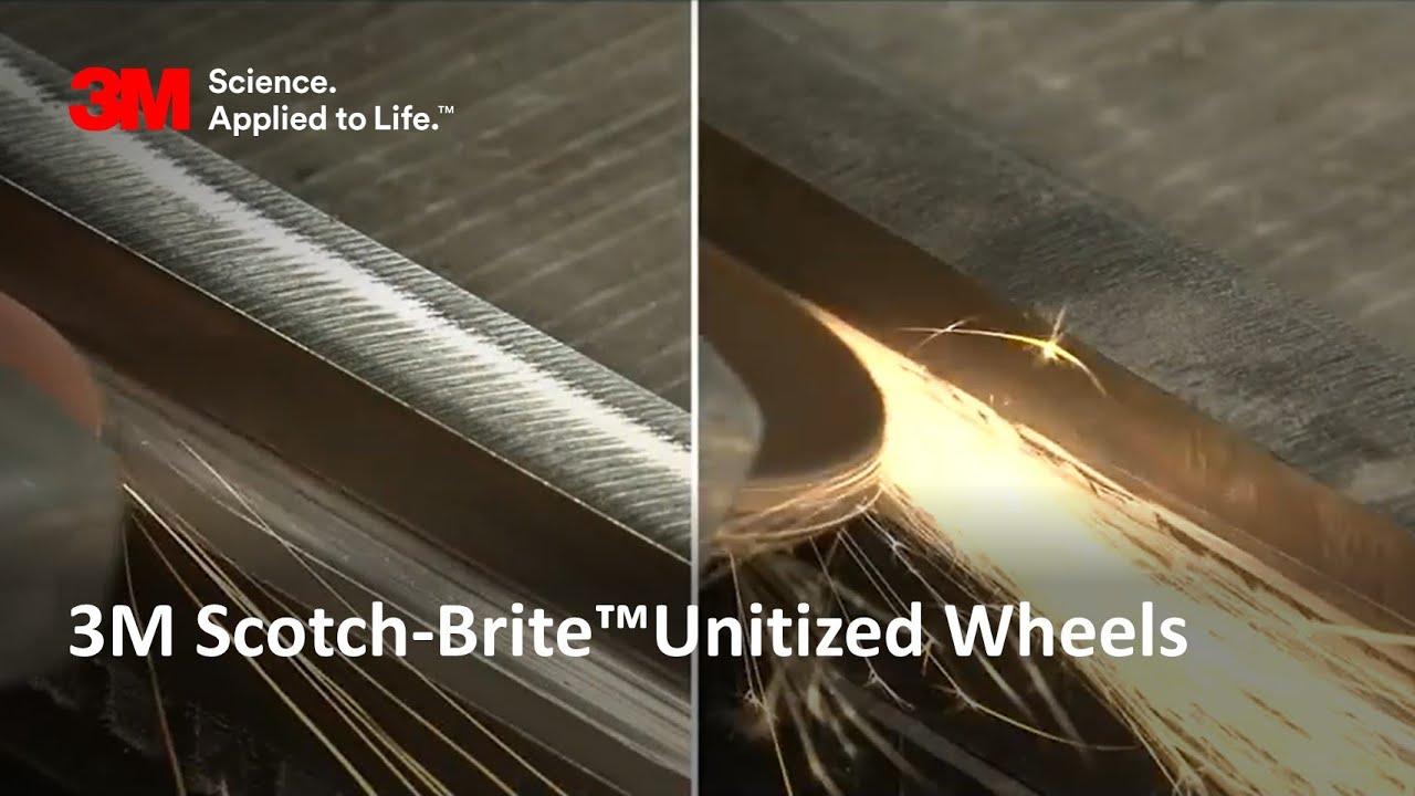 3M Scotch-Brite™Unitized Wheels
