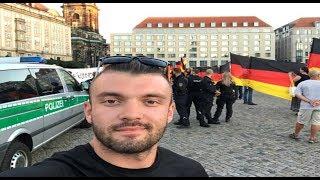 Anton SKALD - Демонстрация PEGIDA (Как это происходит в Германии)