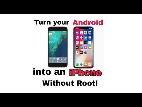 How to turn your Android phone into an iPhone!(no root)