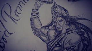 How to draw Lord Rama | Pencil Drawing | Shivaay ,Krishna New Avatar  |sketch