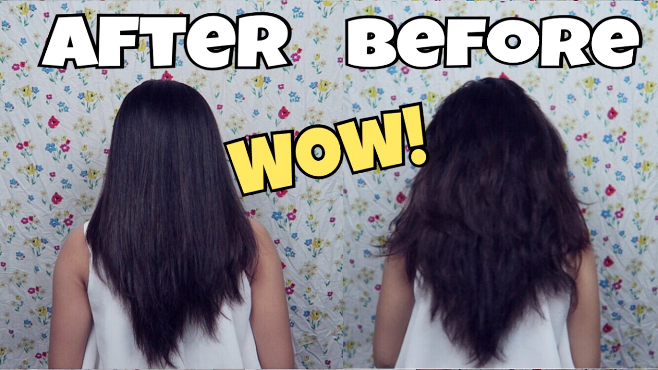 Tips Meluruskan Rambut Dengan Bahan Alami Indira Kalistha Youtube