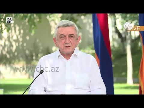 Экс-президент Армении Серж Саргсян пытается оправдаться за апрель 2016 года