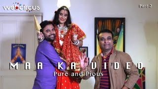 radhe maa ka video spoof radhe maa caught on camera getting ready pure and pious
