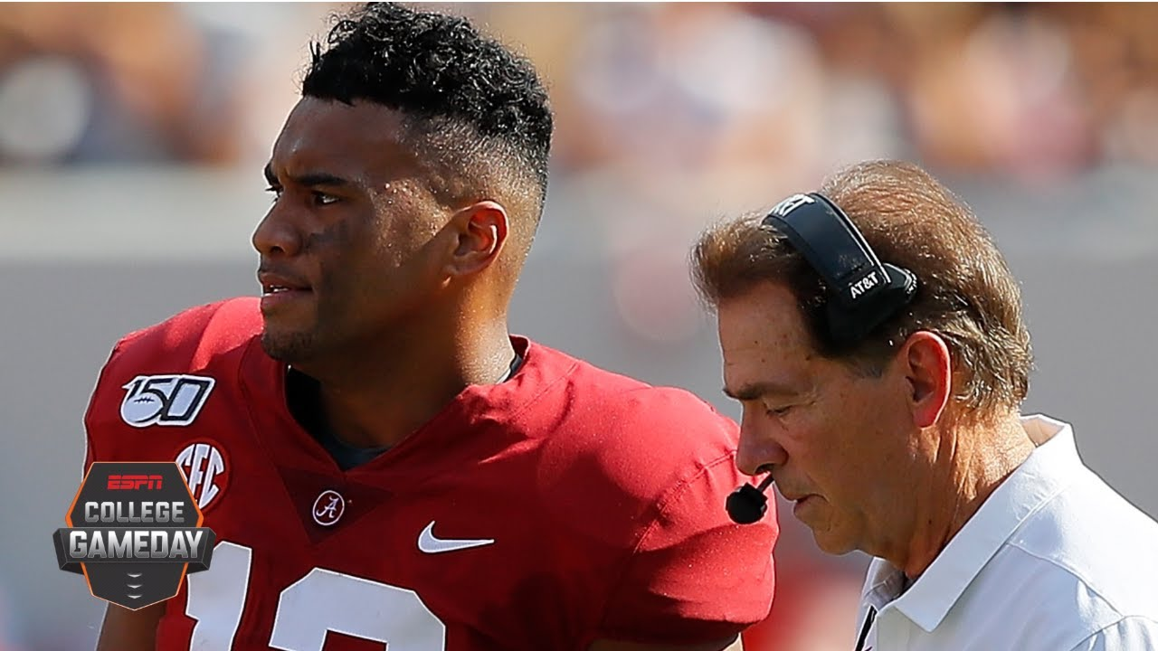 Is Alabama in danger of missing the College Football Playoff? | College GameDay