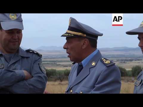Attempts to control drug trafficking from Morocco to Algeria