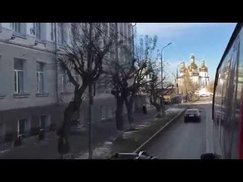 видео: Тюмень. Обзорная экскурсия по городу на автобусе