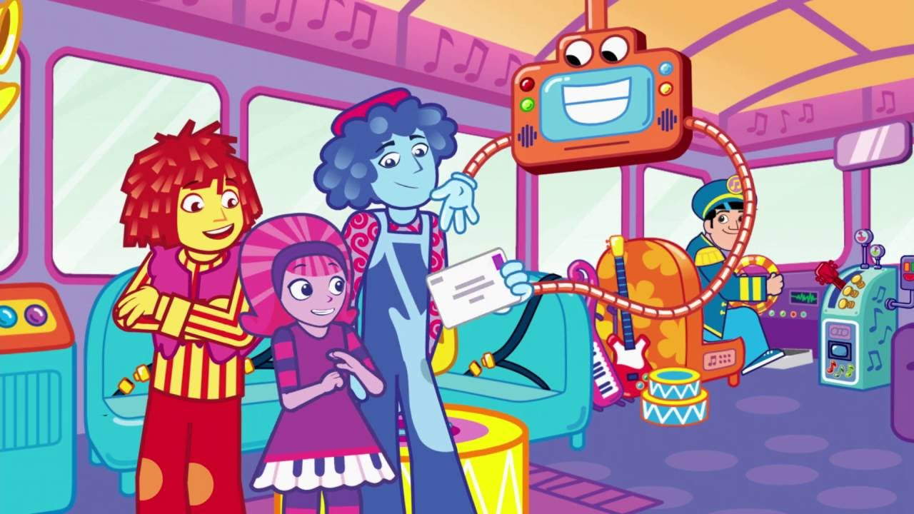Doodlebops Rockin Road Show 120 - Sing A Tune Town//The Doodle-verse!