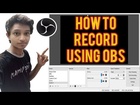 How to Record Gameplay and Screen Using OBS Software (VERY EASY)